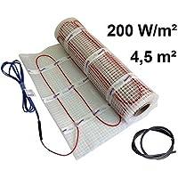 EXTHERM - Alfombra de Radiador de Doble Cable, Area de 4,5m² - Potencia de Calefacción de Suelo de 200 W/m² - Confort Térmico en su Hogar - Soluciones de Energía Renovable
