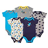 Best Luvable Friends Baby Gifts For Boys - Luvable Friends Baby Boys' Bodysuit Red red 3-6 Review
