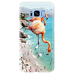 """iSweven Samsung Galaxy S8 case, printed designer slim fit hard cover, light weight """"360 degree"""" protection, matte finish back cover for Samsung S8 (1939 Art)"""