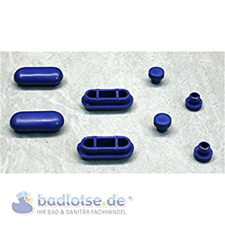 ASEM WC-Sitz-Füße blau 297.02 Ersatz-Auflagenpuffer Abstandhalter Toilette