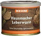 Rehm Schurwalder Hausmacher Leberwurst, 6er Pack (6 x 200 g)
