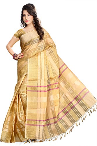 Asavari Organza Saree (Thr16-Dos-Pta-Crm_Beige)  available at amazon for Rs.899