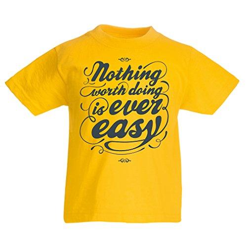 Kinder T-Shirt Motivationszitate für das Leben - Vintage Inspirational Lustige Sprüche (14-15 years Gelb Mehrfarben) J Cole Kleidung