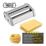 PAGILO Nudelmaschine (7 Stufen) für Spaghetti, Pasta und Lasagne | 2 Jahre Zufriedenheitsgarantie | Pastamaschine, Pastamaker - 7