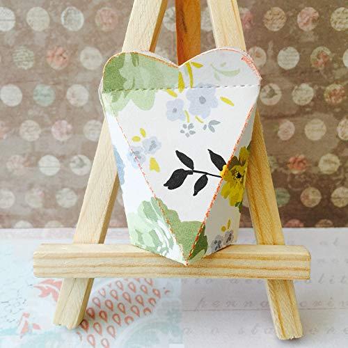 Lazzboy Fustelle Natale Scrapbooking Metallo Stencil Paper Card Craft per Sizzix Big Shot/Altre Macchine(B, Scatola) - 3