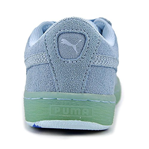Puma Suede Classic Ice Mix Kids Synthétique Baskets Cool Blue-French Blue