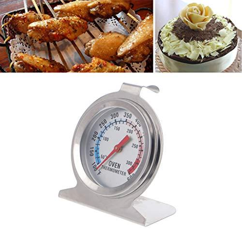Cuigu 2 Stücke Ofenthermometer, Ofenthermometer Hochwertigen Thermometer Für Lebensmittel Fleisch Temperatur BBQ Grill Messer Backenwerkzeuge
