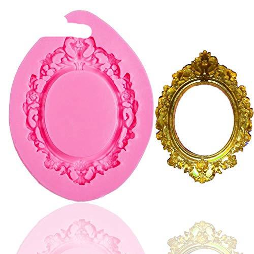 Silikonform für Kuchen, Schokolade, Fondant, Kuchendekoration, Kunstharz Einheitsgröße rose (Oreo-barbie)