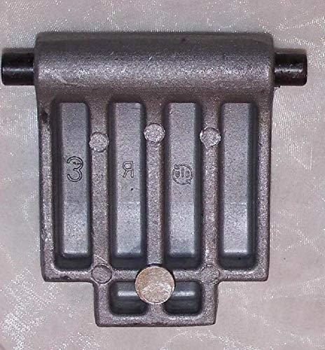 Ersatz Gegenplatte passt für Florabest FLH 2500/6 2500/7 2500/8