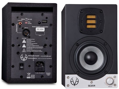 Aktiver Monitor-Lautsprecher 4 Zoll EVE Audio SC204 50 W 1 St.