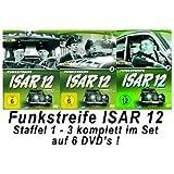 Funkstreife ISAR 12 - Staffel 1-3 Komplett Set (Folgen 01-35) (6DVDs)