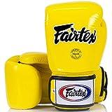 Fairtex Boxhandschuhe, BGV1, gelb Größe 14 Oz