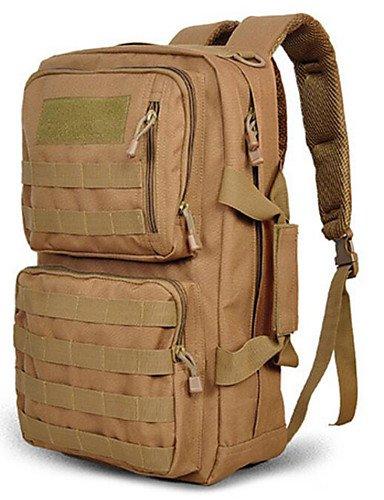 ZQ 30 L Rucksack Camping & Wandern Draußen Wasserdicht Schwarz / Braun / Tarnfarben Nylon cp color