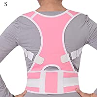 KiGoing Corrector de Postura para Espalda de Hombro Mujeres Hombres Cinturón de Apoyo Corrección Anti-jorobada Paño Ok