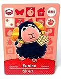 Amiibo Card Animal Crossing Happy Home Design Card Eunice 081 by Nintendo