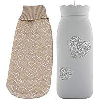 Jadeshay Wärmflasche Klein - Wärmflasche Kühler mit Bezug in Mikrowelle geeignet, Silikon, Klein/Groß (Size :... preisvergleich bei billige-tabletten.eu