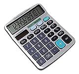 #4: Shunkk™ GITZHEN Premium Desktop Calculator- 12 Digits - CT650II
