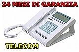 Telecom Italia Sirio Punto 720603 Telefono Corded, Bianco