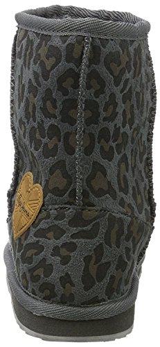 Pepe Jeans - Angel Leopard, Stivali Bambina Grigio