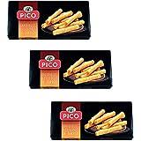 Picó - Das paket enthält 3 Barquillos Rellenos de Turrón - Waffelröllchen mit Turron gefüllt 75 gr - Supreme Qualität