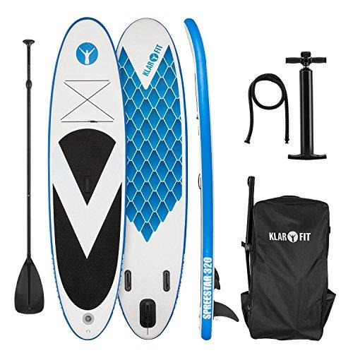 Klarfit Spreestar 320 • Tabla de pie hinchable • Paddleboard • P
