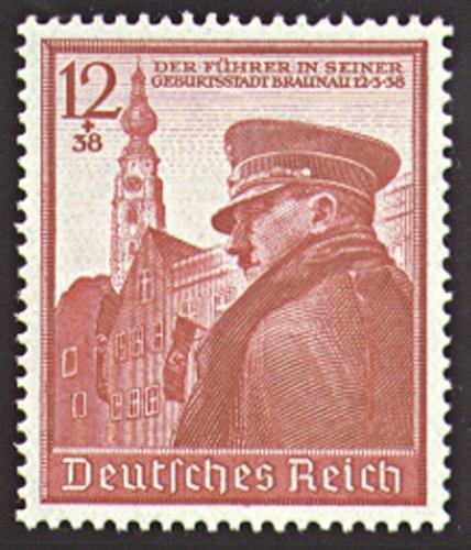 50 Briefmarken (Goldhahn Deutsches Reich Nr. 691