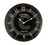 The Garden & Home Co. 17240 Black Stable Clock -...