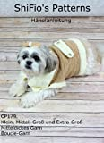 Häkelanleitung  – CP179 -Hundemantel, Mantel oder Überzug für Hunde