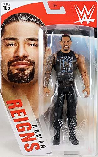Wwe Figura de Acción Luchador Roman Reigns (Mattel Gkt07)