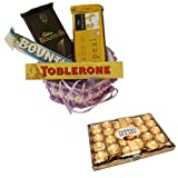 Chocolate Gift Hamper With 24 Pcs Ferrero Rocher