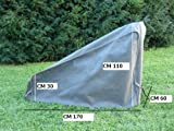 """Maffei Art 950 protection cover for lawn mowers. Special fabric """"Mytex"""": waterproof and breathable. Made in Italy"""