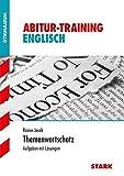 Abitur-Training - Englisch Themenwortschatz