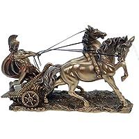 Römer en Carroza Bronce Figura Escultura Antigua Roma rom
