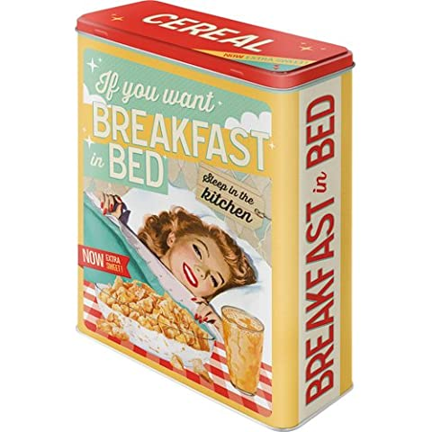Say it Nostalgic Art-50 pezzi, ideale per servire la colazione a letto, Xl