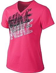 Nike Leg Tracer Tee YTH T-shirt de fitness et d'exercice pour filles