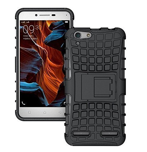 Valueactive™ Vivo Y51/Y51L Defender Stylish Hard Back Armor Shock Proof Case Cover with Back Stand Feature