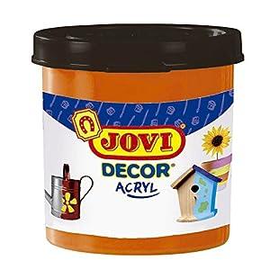 Jovi - Acryl, Caja de 6 Botes, Pintura multisuperficie, Color Naranja (67006)