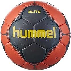 Hummel Elite–Balón de balonmano, todo el año, color Ombre Blue/Nasturtium/Yellow, tamaño 2