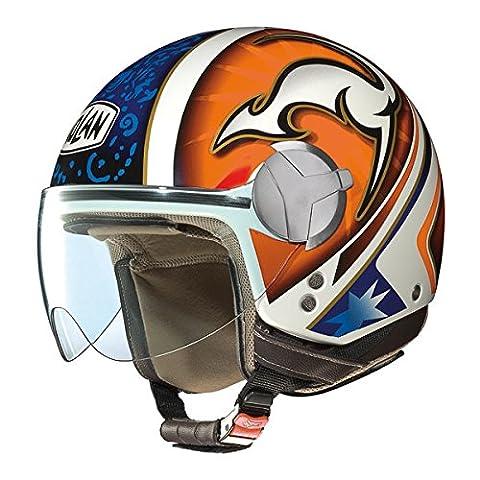 Helm Moto Jet Nolan N20TRAFFIC Rider Plus Kangaroo TG.XXS