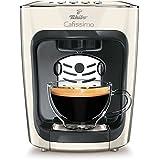 Tchibo Cafissimo Mini Kaffeekapselmaschine (für Kaffee, Espresso, Caffé Crema und Tee) weiß
