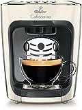 Tchibo Cafissimo mini Kaffeekapselmaschine (für Kaffee, Espresso, Caffé Crema und Tee) weiß (Classy White)