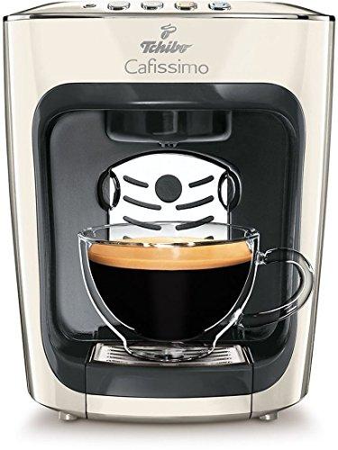 Mini-espresso-kaffeemaschine (Tchibo Cafissimo mini Kaffeekapselmaschine (für Kaffee, Espresso, Caffé Crema und Tee) weiß (Classy White))