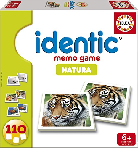 Educa Borrás 14783 - Identic Natura (110 Cartas)