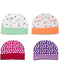a6c66c99ed6 Kidzvilla Presents Soft Caps Gift Set for New Born Baby Pack of 2  (Multicolors)