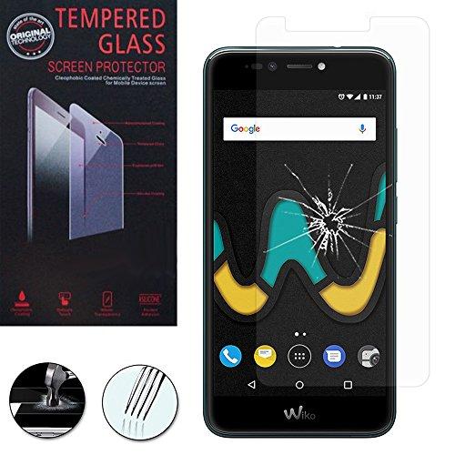 VComp-Shop® Hochwertige gehärtete Panzerglasfolie für Wiko UPulse 4G 5.5