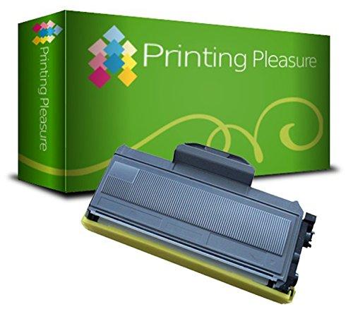 Printing Pleasure TN2110 TN2120 Toner Compatibile per Brother DCP-7030 DCP-7040 DCP-7045N HL-2140 HL-2150 HL-2150N HL-2170 HL-2170W MFC-7320 MFC-7340 MFC-7440N MFC-7840W, Nero