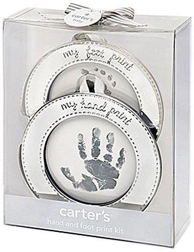 Carter's Hand and Foot Print Keepsake, Silver