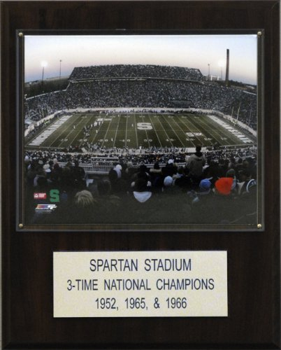 C & I Collectables NCAA Football Spartan Stadium Stadium Plaque