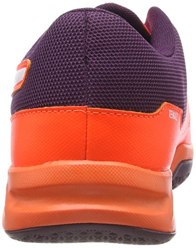 Puma Unisex-Erwachsene Tenaz Handballschuhe, Orange (Shocking Orange-Puma White-Shadow Purple 03), 46 EU - 2
