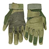 Mimicool Herren Outdoor-Handschuhe Full Finger Military Tactical Handschuhe Anti-Rutsch Verschleißbeständige Fahrrad-Radfahren Motorrad-Handschuhe